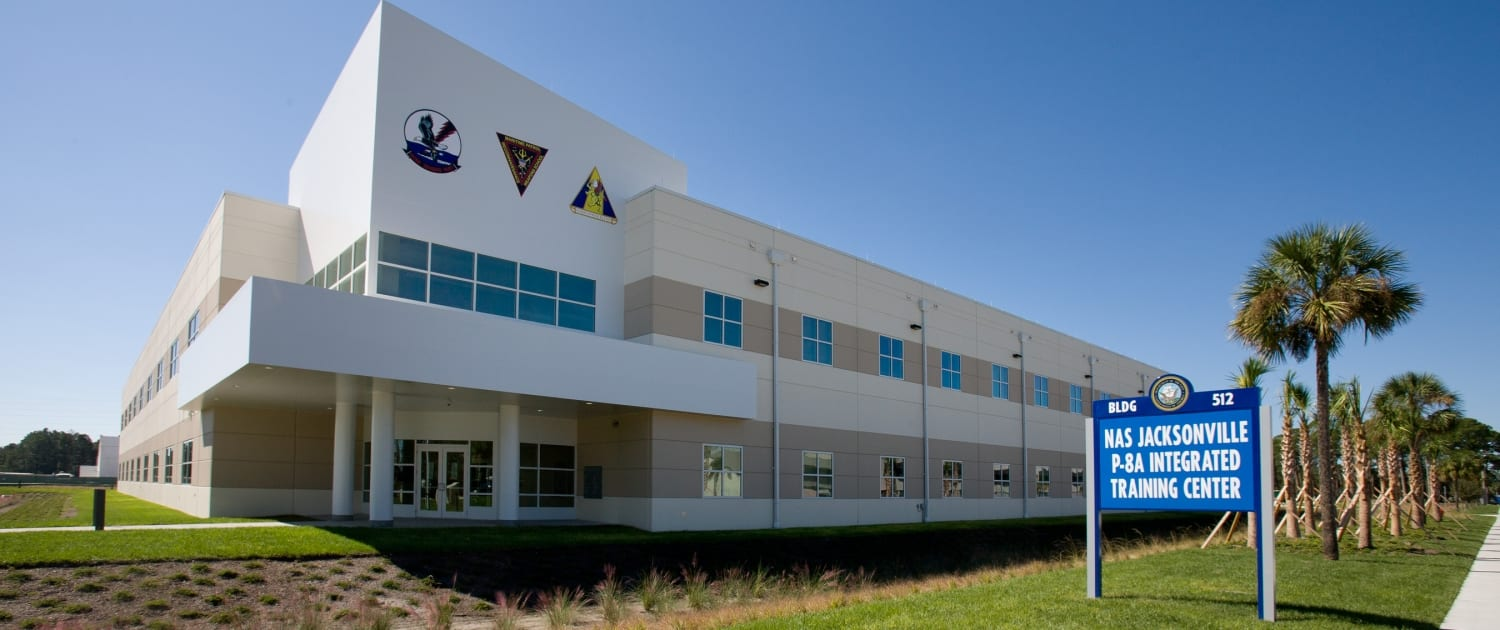 Naval Air Station Jacksonville - P-8A Integrated Simulation/Training Center - LEED Gold