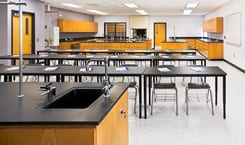 CHEMISTRY LAB WASHINGTON HIGH SCHOOL